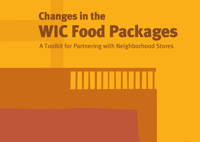 Changes in the WIC Food Packages: Toolkit