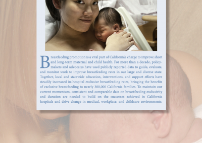 Using Data to Drive Change – Hospital Breastfeeding Rates Report and Fact Sheets