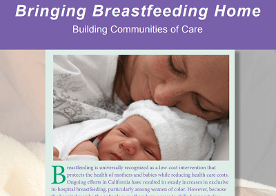 Bringing Breastfeeding Home: Building Communities of Care and  County Fact Sheets