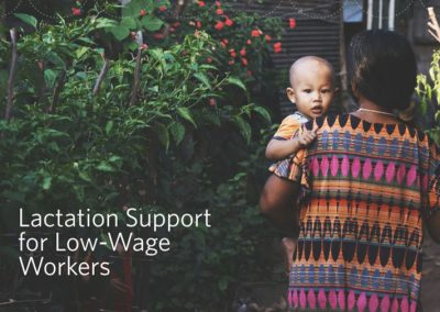 Lactation Support for Low Wage Workers (2020)